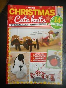 Simply Knitting Christmas Cute Knits - 14 Pattern Booklet