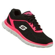 Coller SKECHERS Sneaker Schuhe in Hot Pink Schwarz  - Gr. 37 - K25 - 904702