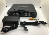 N64 Console Nintendo 64 Console Japanese with power cord, av cable works in USA
