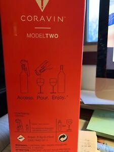 CORAVIN Model Two Wine Preservation System, new original box