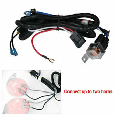Car Truck 12V Horn Wiring Harness Relay Kit For  Grille Mount Blast Tone Horns