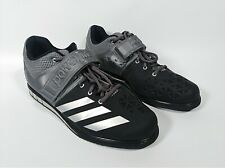 ADIDAS POWERLIFT.3 AQ3330 Weightlifting 2.0 Black Gray Mens Shoes Size 10
