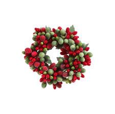 "Raz Imports 3"" Beaded Berry Candle Ring (3710116)"