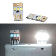 2pcs Mini Soshine USB 3 LED Light Control Night Lamp PC Card Lamp Light Hot