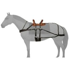 Tough-1 Classic Sawback Pack Saddle with Adjustable Breeching and Wooden Tree