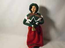 Byers Choice Rare 1986 Traditional Woman with Bell