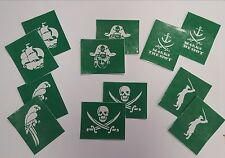 Pirate Tattoo Stencils