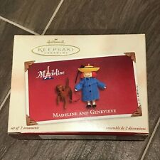 Hallmark Ornament: Madeline And Genevieve - Set of 2 Christmas Ornaments 2002