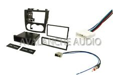 Double DIN Car Stereo Kit W Wiring Harness & Antenna Adapter For 07-12 Altima