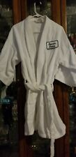 Cousin Eddie White Robe with name patch Martex
