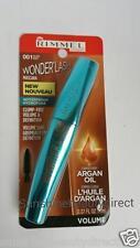New Rimmel Wonderlash Mascara Waterproof Black With Argan Oil