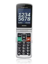 """Cellulare BRONDI AMICO N UNO Silver Display 3"""" Bluetooth Fotocamera integrata"""