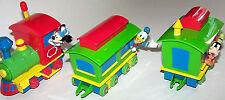 DISNEY Park Train Remote Control Car Toy Mickey Donald & Goofy