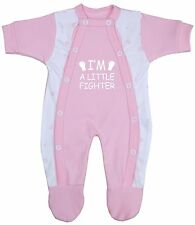 BabyPrem Baby Clothes Premmie Premature Boys Girls Growsuit Sleepsuit Babygrow Pink 0000000
