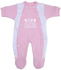 BabyPrem Baby Clothes Premmie Premature Boys Girls Growsuit Sleepsuit Babygrow Pink 00000