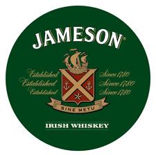Jameson Irish Whiskey Sign - 14 inch Diameter Aluminum Sign