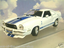 1/18 GREENLIGHT JILL MUNROE'S 1976 FORD MUSTANG II 2 COBRA II CHARLIE'S ANGELS