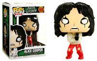 Alice Cooper Hot Topic Exclusive 69 Funko Pop!! Mint! Soft Protector!