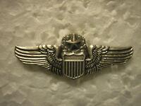 U.S. AIR FORCE HAT PIN - COMMAND PILOT WINGS