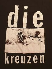 DIE KREUZEN original vintage early 90s OCTOBER FILE shirt TOUCH AND GO