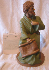 "1995 Tom Clark Matthew Figure The Gospel Writers Series #6009 10"" W/Story Card"