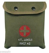 jungle first aid kit m1 military medic individual pouch with content rothco 8329
