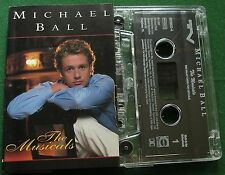 Michael Ball The Musicals inc All I Ask of You & Memory + Cassette Tape - TESTED