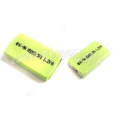 2 pcs 500mAh 1.2V 2/3 F6 NiMH Gumstick Rechargeable Battery CD MD HI-MD