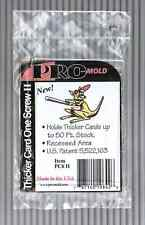 (Pack of 20) Pro Mold (1 Screw) Screw Down Thicker Trading Card Holder 50pt w UV