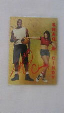 Shaq and Cindy Card - RARE