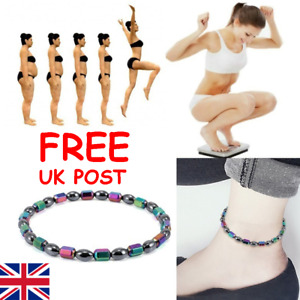 STRETCH MAGNETIC ANKLET MAY HELP IN WEIGHT LOSS & HEALING MAGNETIC THERAPY