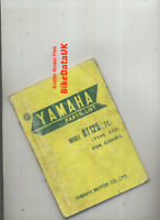 Yamaha DT125 (1974 >>) Genuine Parts List Catalogue Manual Book DT 125 AT2 BZ85