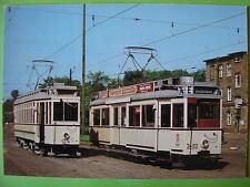 AK Ansichtskarte Postkarte Straßenbahn TW Triebwagen 5274 + 3493 BVG Berlin