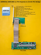 Asmedia asm1083 chipset PCIe x1 To PCI Bridge with controladora SATA
