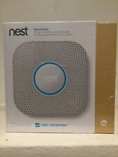 Nest Protect 2nd Generation Smoke and Carbon Monoxide Detector /Alarm -WIRELESS