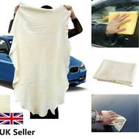 Chamois Leather Car Cleaning Cloth Large Natural Washing Absorbent Drying Towel