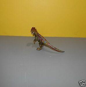 "2003 Schleich Germany Small 6"" Dilophosaurus Dinosaur Plastic Figure"