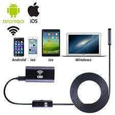 WIFI Waterproof Endoscope Borescope Snake Inspection camera for Andriod Iphone