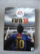 STEELBOOK Steelbox Steelcase : FIFA 13  MESSI / Format G1