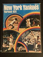 Original 1970 New York Yankees Official Baseball Yearbook w/ Color Insert Poster