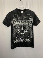 AVENGE SEVENFOLD Vintage Band Shirt Heavy Metal T Shirt Men's Size S Original
