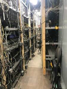 Ethereum ETH/RVN Mining Rig or a Shipping Container FULL of Miners - 13,000 MH/S