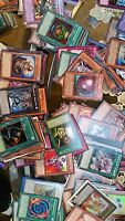 collection YUGIOH CARDS LOT OF 500 cards  (50 Rares and 450 Commons Lot),
