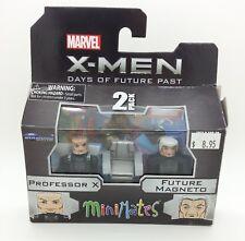 Marvel Minimates Professor X & Future Magneto X-Men Days Of Future Past Wave 58