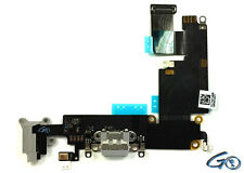 Black / Grey Dock Connector Charging Port Assembly Replacement For iPhone 6 Plus