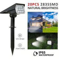 20LED Adjustable Solar Spotlight Solar Garden Light Wall Light Outdoor Light