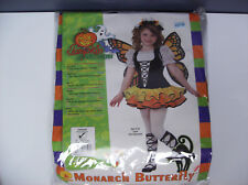 MONARCH BUTTERFLY TODDLER HALLOWEEN COSTUME SIZE 2-4