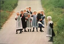 Welcome To Amish Country Kids Postcard Pennsylvania RPPC