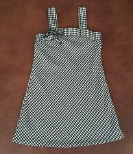 Basic Editions Black And White Dress Size 6/6x C5