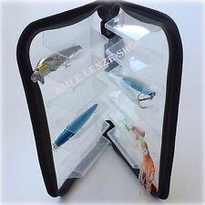 scatola porta artificiali astuccio contenitore minnow rapala cucchiaini pesca